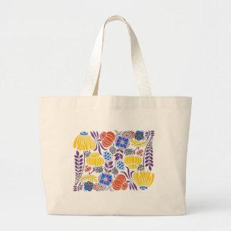 Bright Vintage Flower Pattern Bags