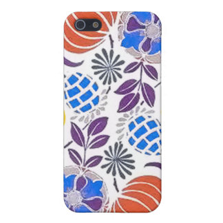 Bright Vintage Flower Pattern Covers For iPhone 5