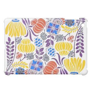 Bright Vintage Flower Pattern iPad Mini Cover