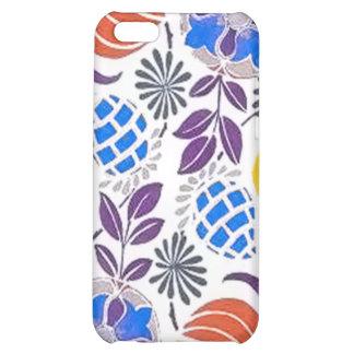 Bright Vintage Flower Pattern iPhone 5C Case