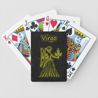 Bright Virgo Bicycle Playing Cards