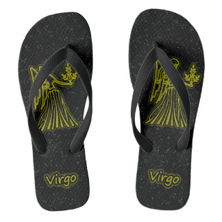 Bright Virgo Flip Flops