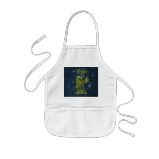 Bright Virgo Kids Apron