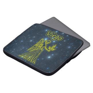 Bright Virgo Laptop Sleeve