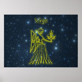 Bright Virgo Poster