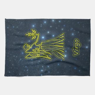 Bright Virgo Tea Towel