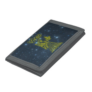 Bright Virgo Trifold Wallet
