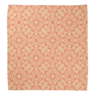 Bright warm background in vintage style. bandana