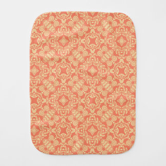 Bright warm background in vintage style. burp cloth