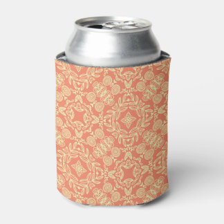 Bright warm background in vintage style. can cooler