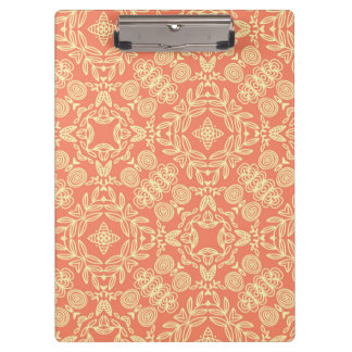 Bright warm background in vintage style. clipboard