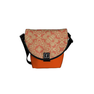 Bright warm background in vintage style. commuter bags
