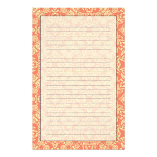 Bright warm background in vintage style. custom stationery