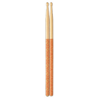 Bright warm background in vintage style. drumsticks