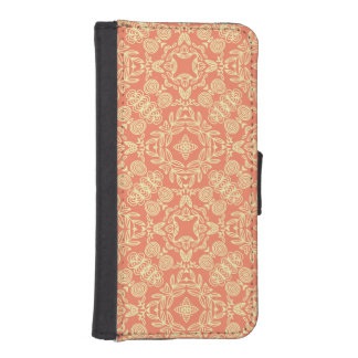 Bright warm background in vintage style. iPhone SE/5/5s wallet case