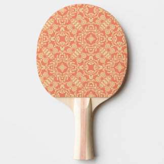 Bright warm background in vintage style. ping pong paddle