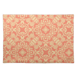 Bright warm background in vintage style. placemat