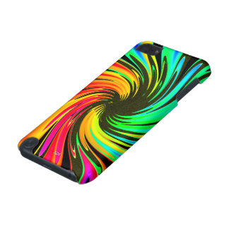 Bright Whirling Neon Lights Whirlpool Galaxy iPod Touch 5G Cover