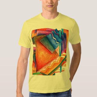 Bright Winter Abstract Tee Shirt