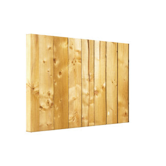 Bright Wood Background Canvas Print