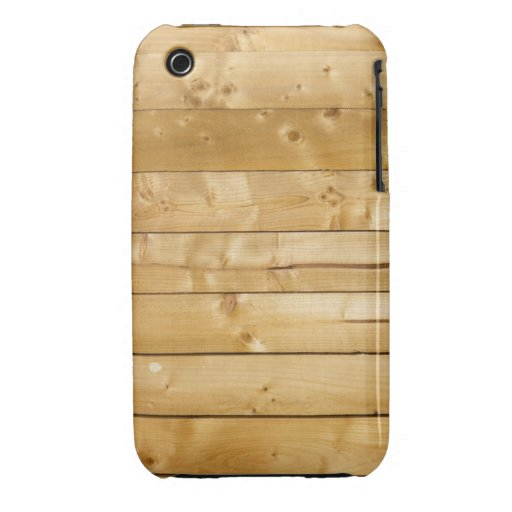 Bright Wood Background Case-Mate iPhone 3 Case