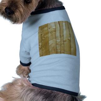 Bright Wood Background Doggie Tee Shirt