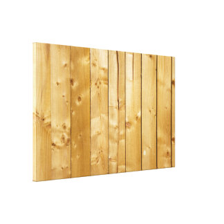 Bright Wood Background Gallery Wrapped Canvas