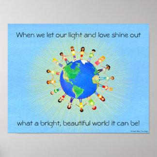 Bright World Poster