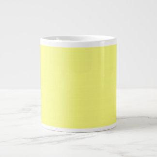 bright yellow 8 x 11 50 lightness DIY custom Jumbo Mug