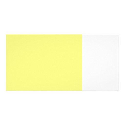 bright yellow 8 x 11 50 lightness DIY custom Custom Photo Card