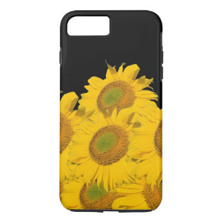 Bright Yellow Abstract Sunflowers iPhone 7 Plus Case