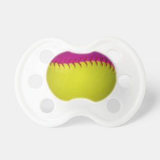 Bright Yellow and Pink Softball Dummy