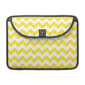 Bright Yellow Chevrons Sleeve For MacBook Pro