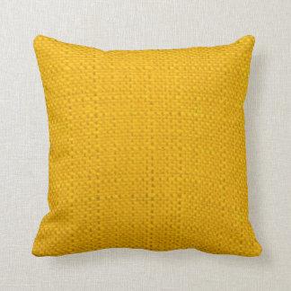 Bright Yellow Cushion