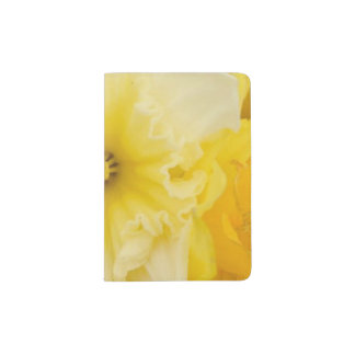 Bright Yellow Daffodils Passport Case
