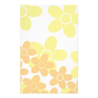 Bright Yellow Daisy Stationery