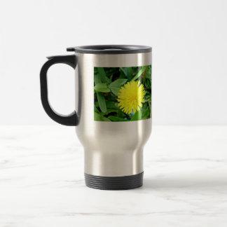 Bright Yellow Dandelion flower Coffee Mugs