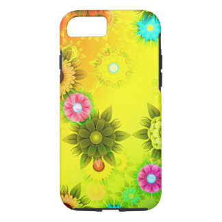 Bright yellow design phone case