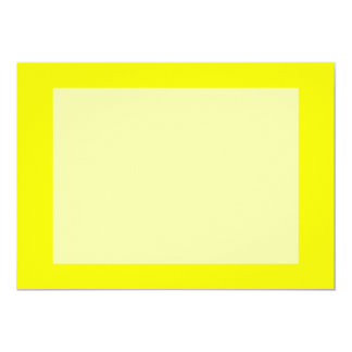 bright yellow DIY custom background template Card