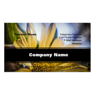 Bright Yellow Flower Business Card