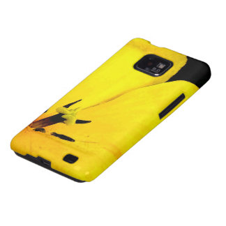 Bright Yellow Flower Galaxy SII Covers