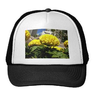 Bright Yellow Flowers Hat