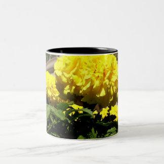 Bright Yellow Flowers Mug