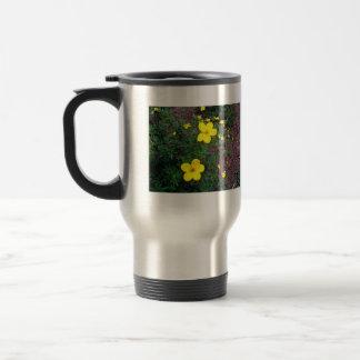Bright yellow flowers coffee mug