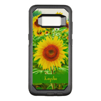 Bright Yellow Giant Happy Sunflowers OtterBox Commuter Samsung Galaxy S8 Case