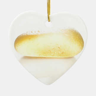 Bright Yellow in the Sunlight Christmas Ornament