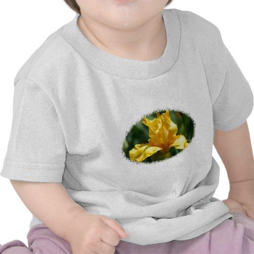 Bright Yellow Iris Tee Shirt