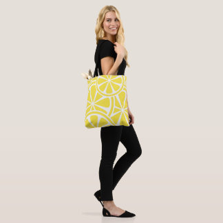 Bright Yellow Lemon Slices Tote Bag
