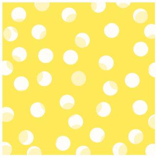 Bright yellow, light yellow, white spotty pattern. photo cut out