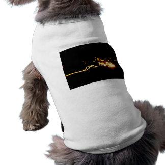 Bright Yellow Lights Sleeveless Dog Shirt